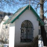 """Kaple zvaná """"U Donáta"""" – postavena vr. 1781, stojí na ul. Příčnice."""