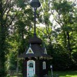 Dřevěná zvonice v Trojanovicích pod Javorníkem