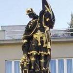 Socha sv.Floriána zroku 1773 - frenštátské námětí.